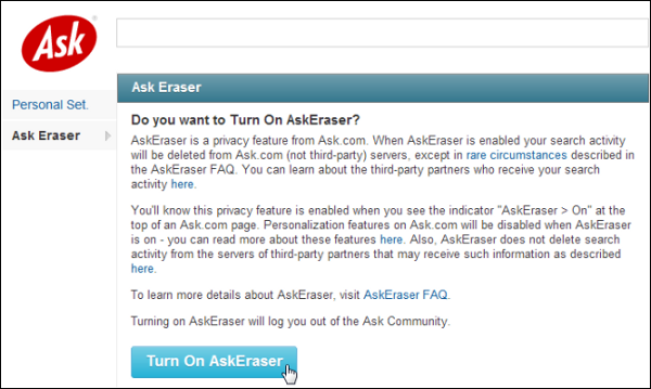 askeraser search