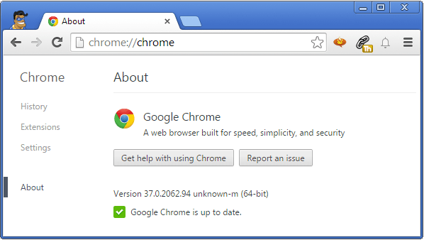 64 bit chrome install or upgrade