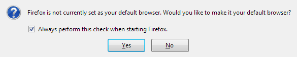 default firefox browser in windows 10