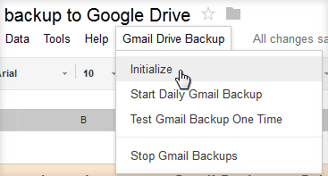 how to take backup gmail emails