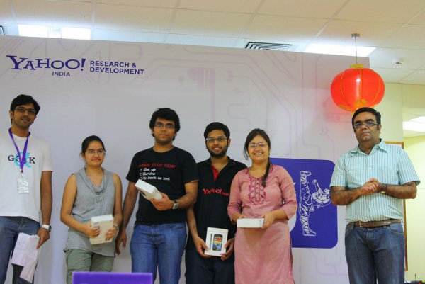 Hacku intellishop winners