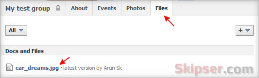 How to Upload and Share Files in Facebook Using Groups