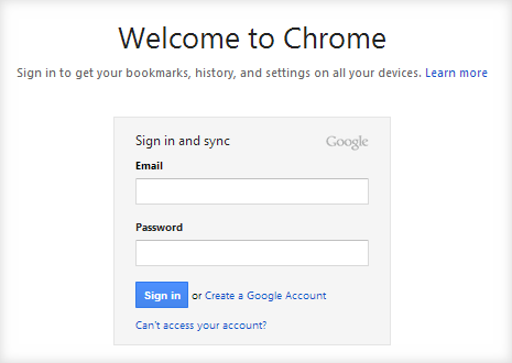 switch google accouts using chrome profiles