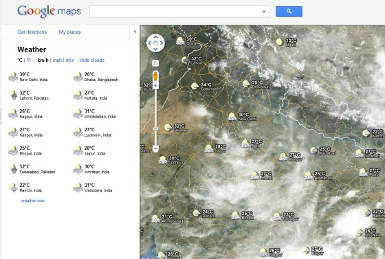 Weather Reports From Google Maps on us map scale, google street view, simple map scale, washington map scale, google search, google earth scale, google map los angeles, google mining claims map,