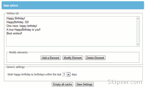 Google chrome extension to send birthday wishes to your facebook happybirthday chrome extension message list m4hsunfo