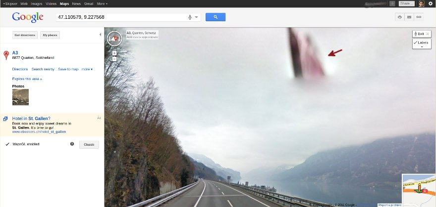 Jesus Comes Back To Earth On Google Maps