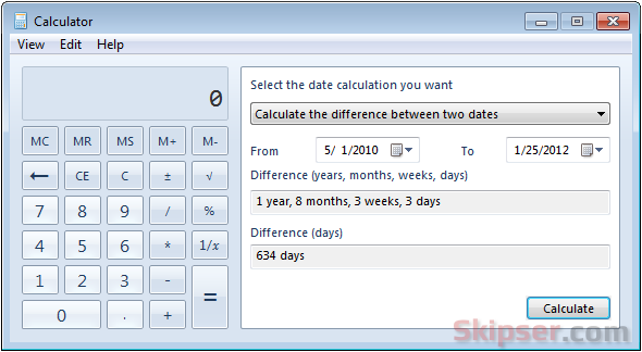 Calculator the 5-2 diet book.