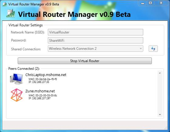 Create Virtual Router to Share PC Internet Connection with ...